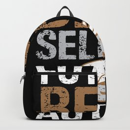 Writer Author Literature Article Blogger Book Backpack