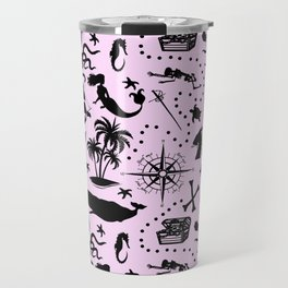 High Seas Adventure // Pink Travel Mug