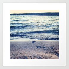 Beach Feeling Art Print