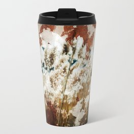 Coffee Stained Parchment Paper Travel Mug