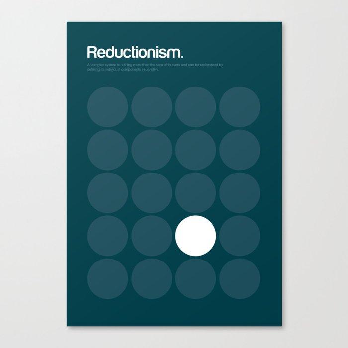 Reductionism Canvas Print