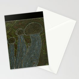 Crab Mushrooms Stationery Cards