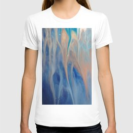 Sands of Time - Abstract Acrylic Art by Fluid Nature T-shirt
