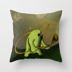 Decorando El Espacio Throw Pillow