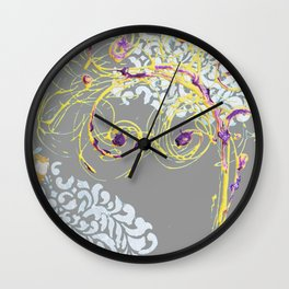 Spring tree Wall Clock