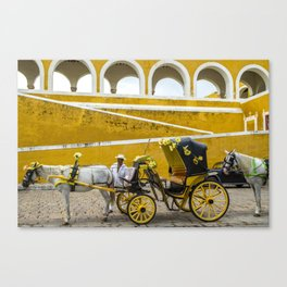 how about a ride? Canvas Print