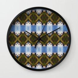 SkyWeave Wall Clock