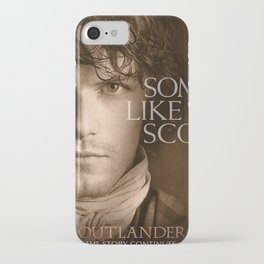 Jamie Fraser Outlander iPhone Case