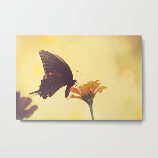 Shadow Dancing on the Wind Metal Print