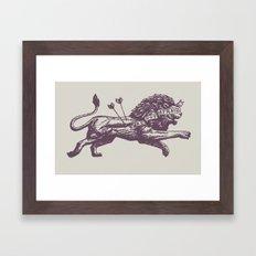 Be Not Afraid Framed Art Print