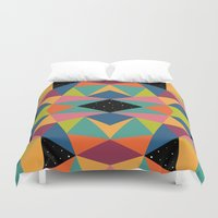 kaleidoscope Duvet Covers featuring Kaleidoscope by Andy Westface
