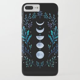 Moonlight Garden - Blue iPhone Case