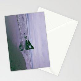 Shipwreck at Fort Stevens state park Oregon Stationery Cards