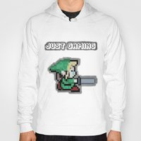 gaming Hoodies featuring JUST GAMING by Edgar