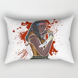 Michonne (The Walking Dead) Rectangular Pillow