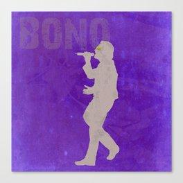 Bono - Rock Wall 3 of 16 Canvas Print
