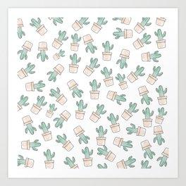 Cactus #1 Art Print