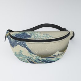 Great Wave Off Kanagawa (Kanagawa oki nami-ura or 神奈川沖浪裏) Fanny Pack