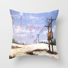 March First Throw Pillow