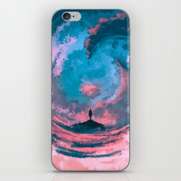The Great Parting iPhone Skin