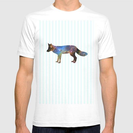 Nebula Fox Stripe T-shirt