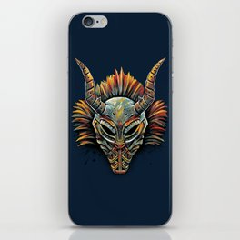 Killmonger Tribal Mask iPhone Skin