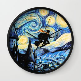 Potter Starry Night Wall Clock