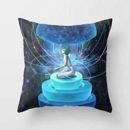 NEUTRON SEPPUKU Throw Pillow