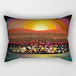 Harbor Square Rectangular Pillow