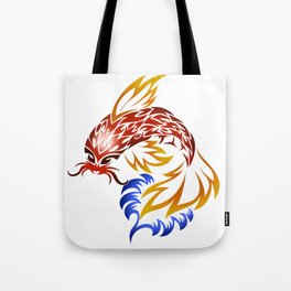 Jumping Koi Tote Bag
