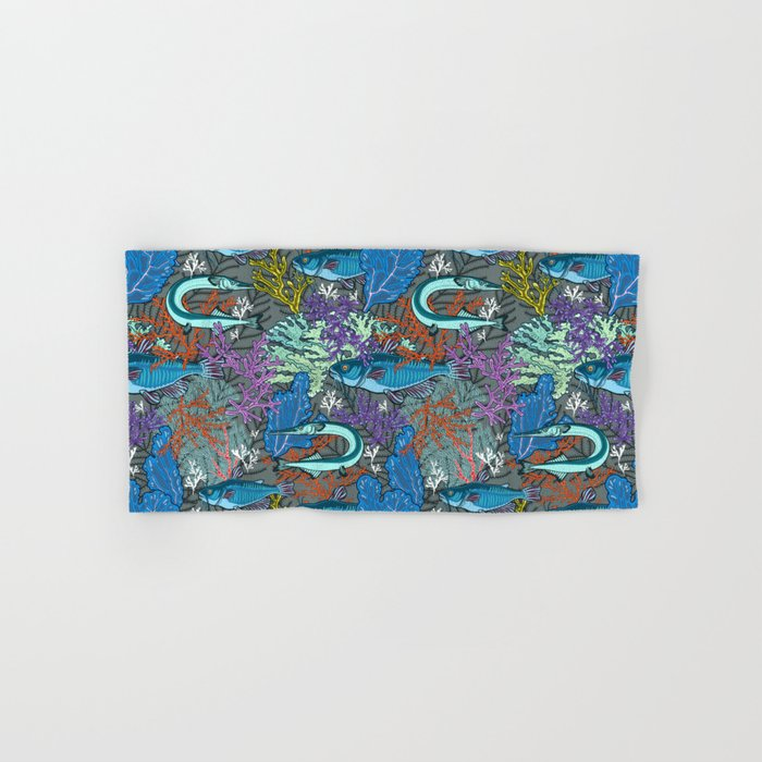 aquarium life Hand & Bath Towel