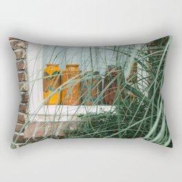 Window art color | bottles | details Utrecht street photography  Rectangular Pillow