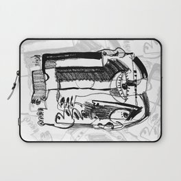 Waiting for Salvation - b&w Laptop Sleeve