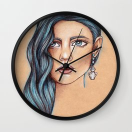 Aquarius Wall Clock