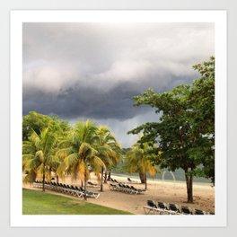The Jamaican Storm Art Print