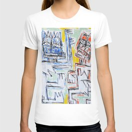 Dance of the spirits by Johnny Otto T-shirt