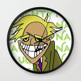 Freaky Fred Wall Clock