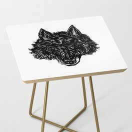 Wolf's Head Side Table