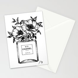 Foral Fragrance Stationery Cards