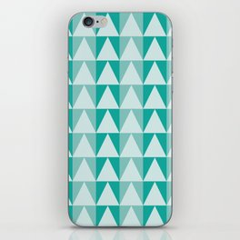 Triangles Up iPhone Skin