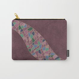 Geometric Marble 03 (abstract) Carry-All Pouch