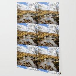 Moorland Falls Wallpaper