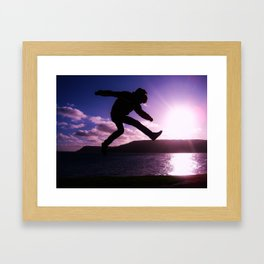 Suspended Framed Art Print