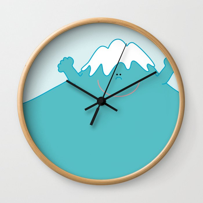 Mt. Fuji  Wall Clock