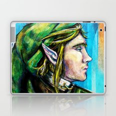 Link from the Legend of Zelda Painting. The Proud Hyrulian Warrior. Laptop & iPad Skin