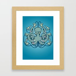 Inktopus Framed Art Print