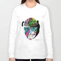 korea Long Sleeve T-shirts featuring A trip to Korea  by doctusdesign