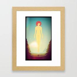 Honey-moon Framed Art Print