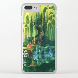 Willows Clear iPhone Case