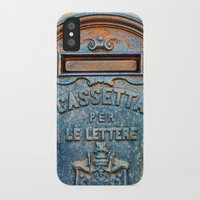italian iPhone & iPod Cases featuring Italian mailbox by Silvia Ganora